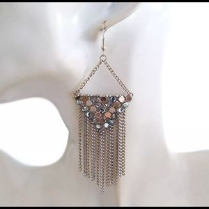 Jewelry - 🎅❄️Boho Dangle Earings Multi-Colored Silver Gold